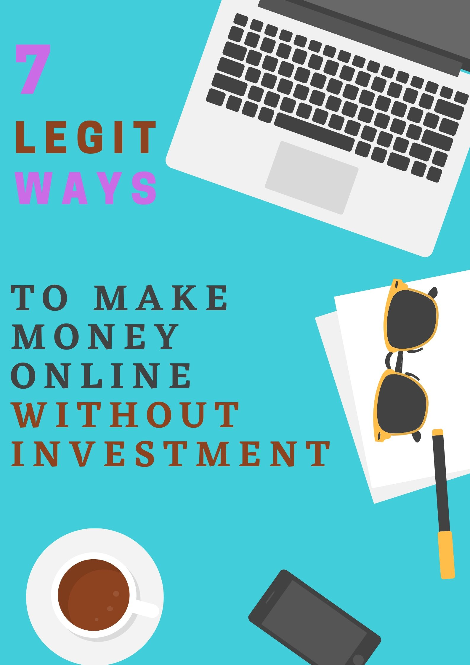 legit ways to earn online without investment