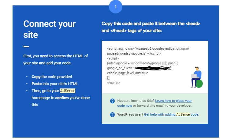 google adsense email with javascript