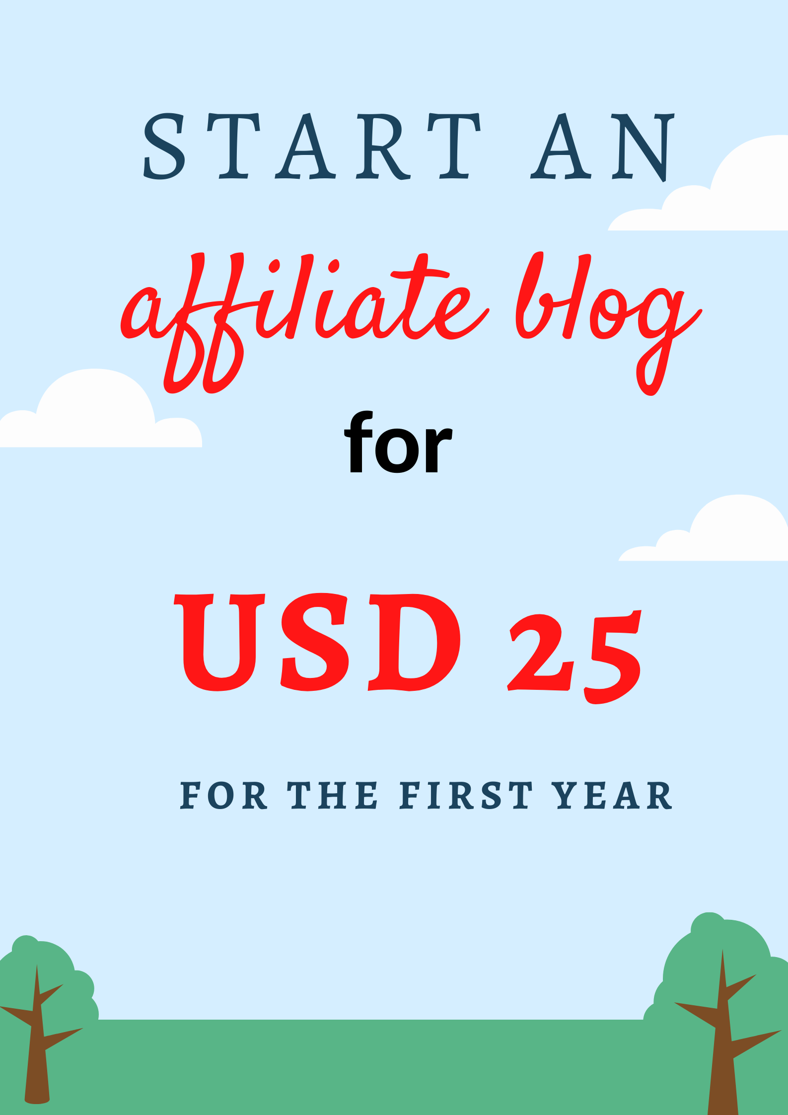 how to start a blog at 25 dollars and earn